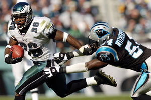 Brian Westbrook looks to have a big week 2