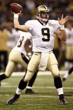 Drew Brees currently lead the NFL in passing yards - will he still be leading in 4 weeks after his Wembley debut???