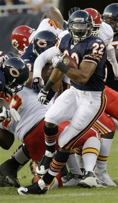 Matt Forte deserved a Pro Bowl spot as a rookie - he was robbed