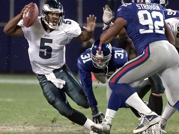 My upset special McNabb to lead the Eagles to an NFC Championship