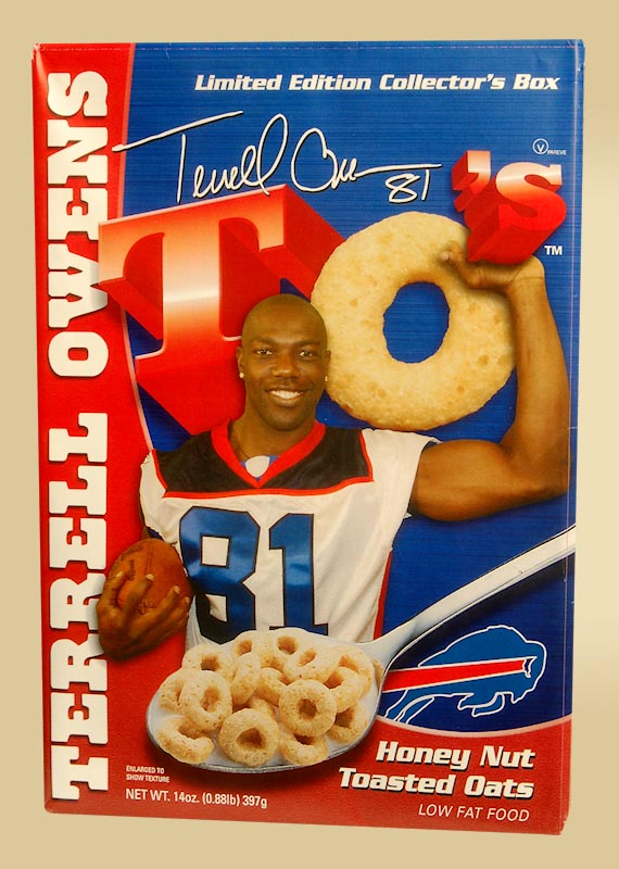 It's crunch time in the celebrity cereal stakes now that TO has joined in !
