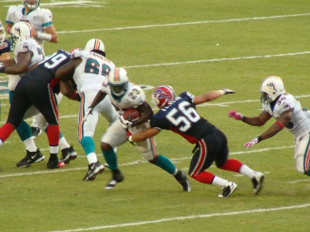 Ronnie Brown scored late to seal the win