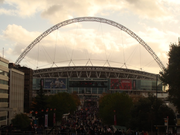 The road to NFL football goes through Wembley Way !!!