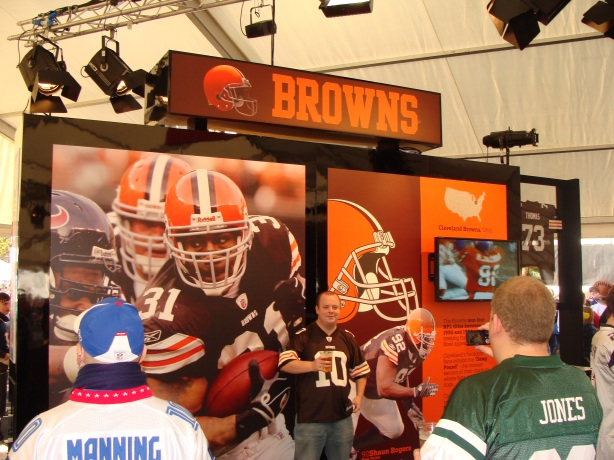 Even the Cleveland Browns have fans in the UK