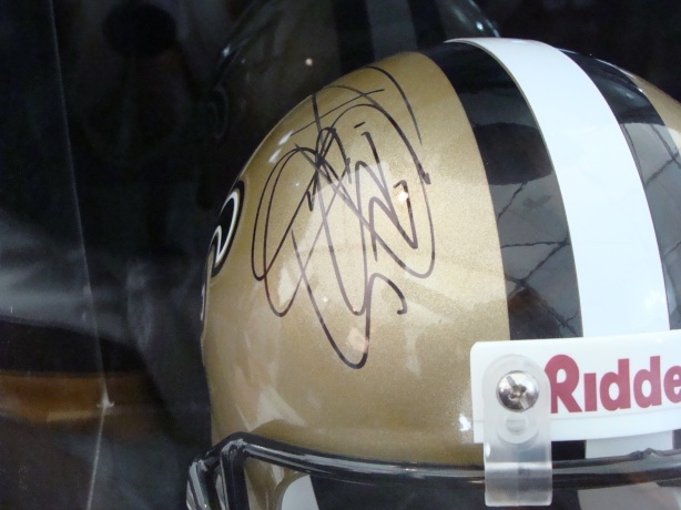 5,000 yard passer Drew Brees from the New Orleans Saints signed this one